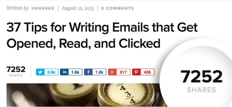 clickable blog titles