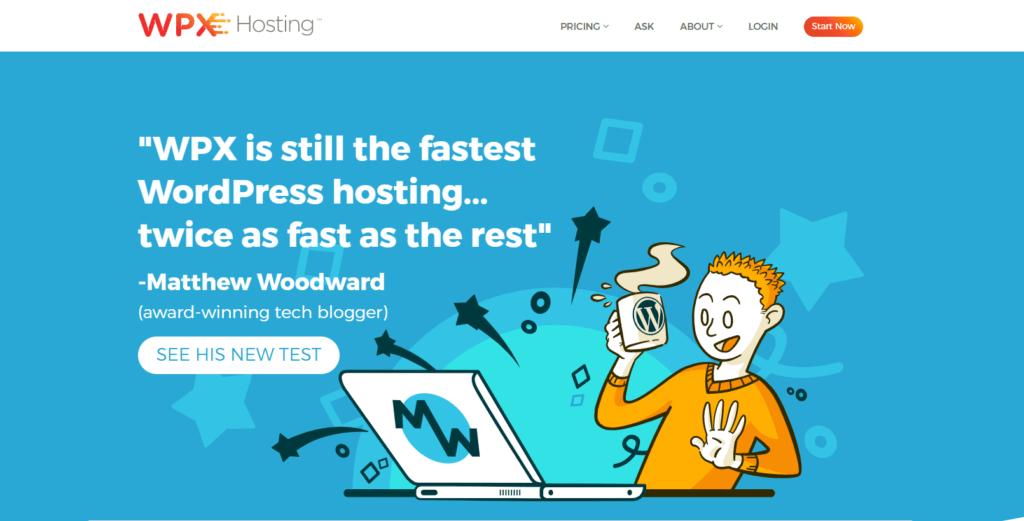 wpx hosting managed wordpress