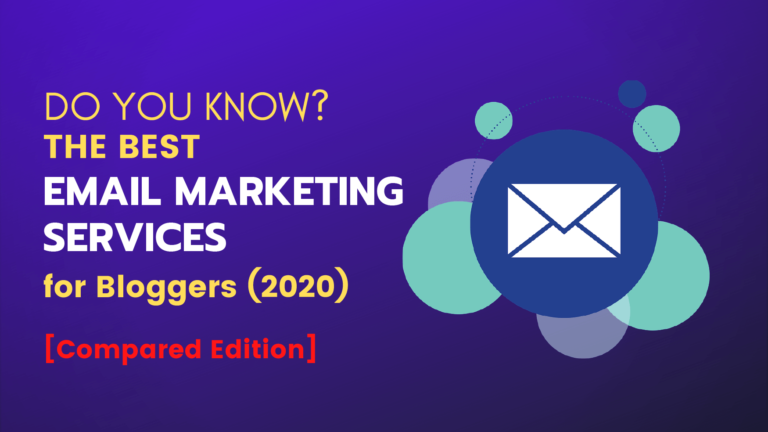 best email marketing services for bloggers