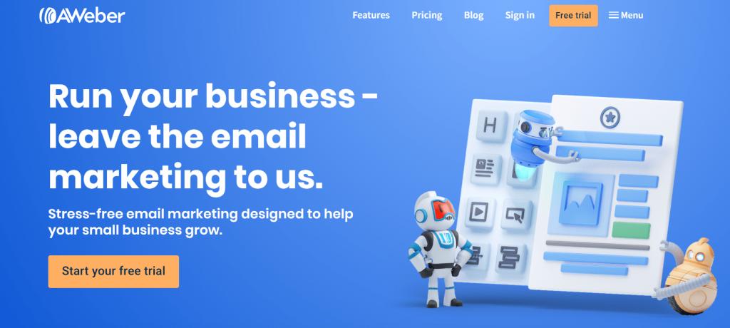 aweber - best e-marketing services
