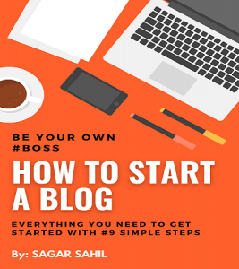 how to start a blog by sagar sahil-min
