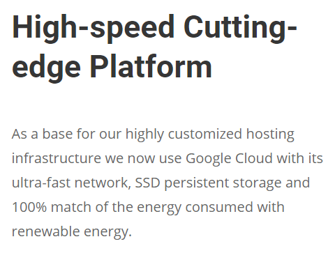 siteground review google cloud speed