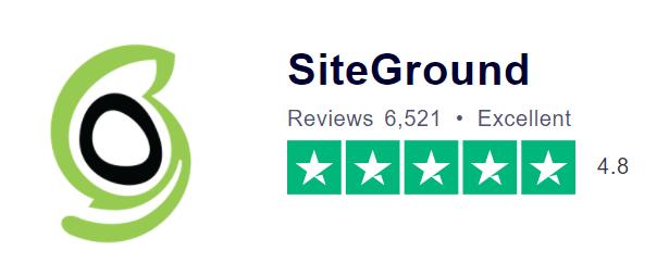 siteground review - trustpilot