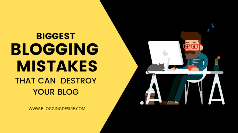 BLOGGING MISTAKES TO AVOID [for beginners]